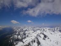 Curdin über den bündner Alpen