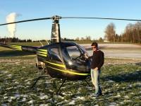 Dani mit Helikopter