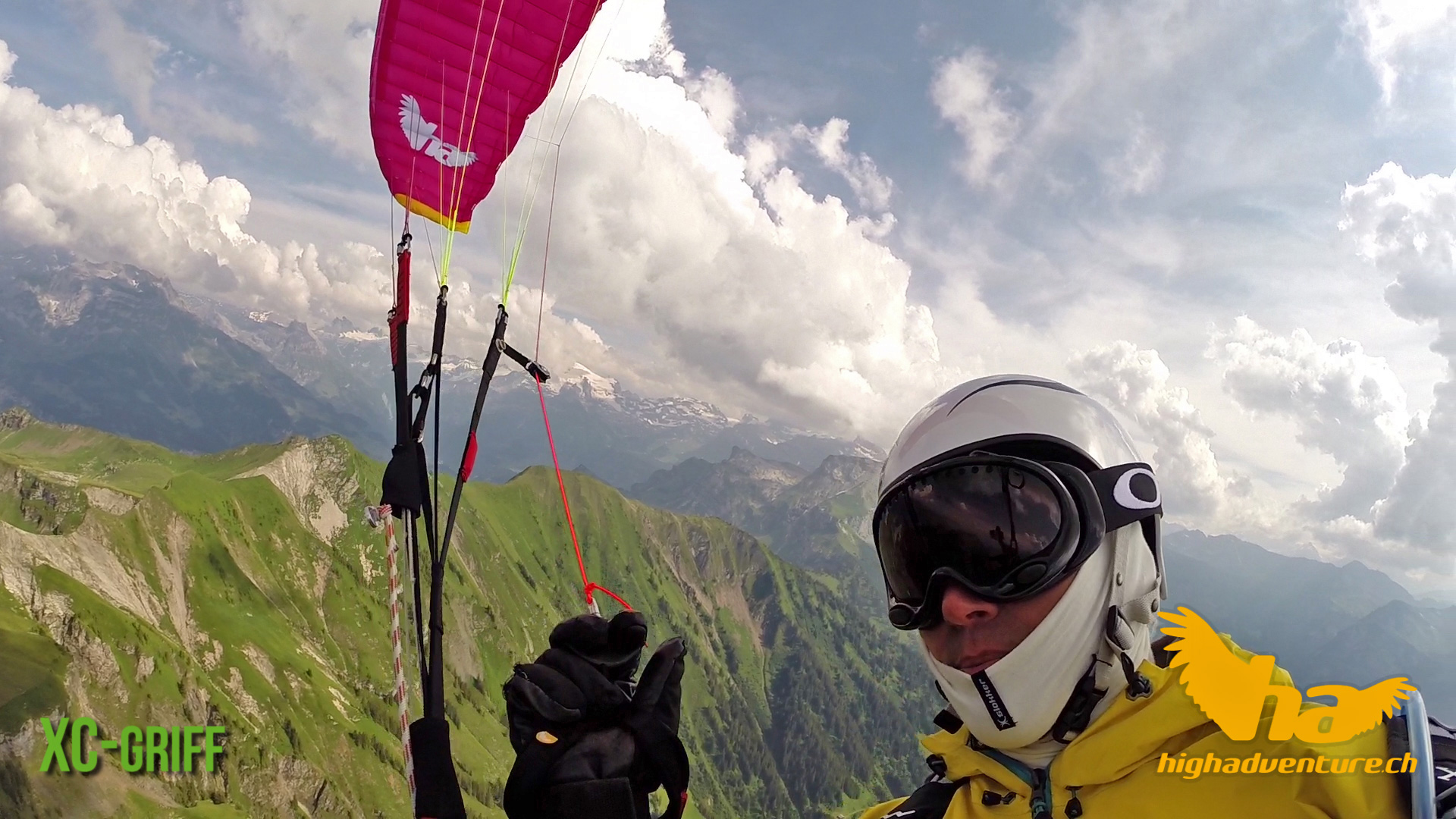 High Adventure - XC-Griff - Paragliding Handles