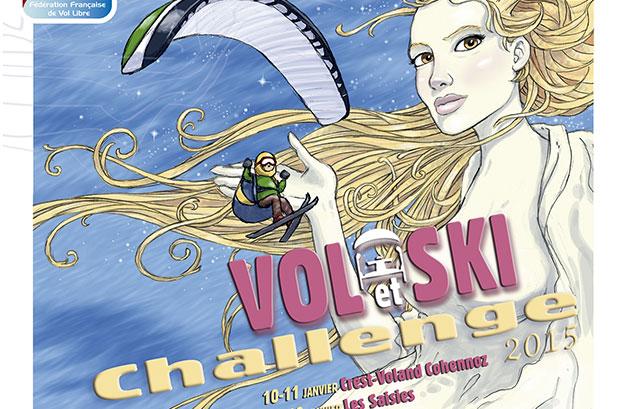 Vol et ski Zinal