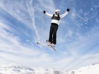 Matthews Pellegrini auch auf Skiern im Element