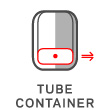 Tube container