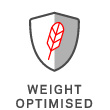 Weight optimised
