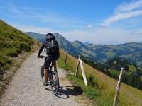 Christoph auf Biketour