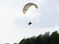 Pia Ming im Landeanflug auf dem San Fermo