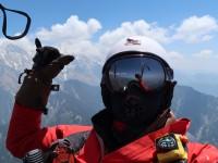 Thomas Schneider - Selfie am PHANTOM auf 202km Flug im Himalaya