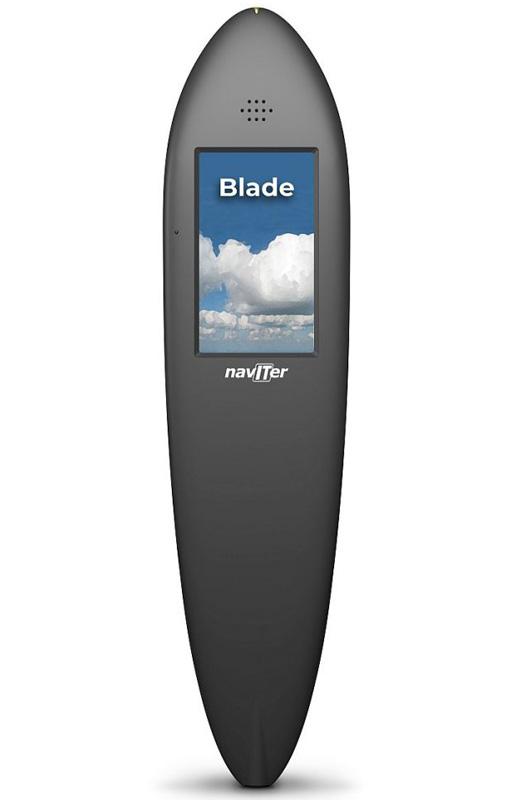 Blade front splash