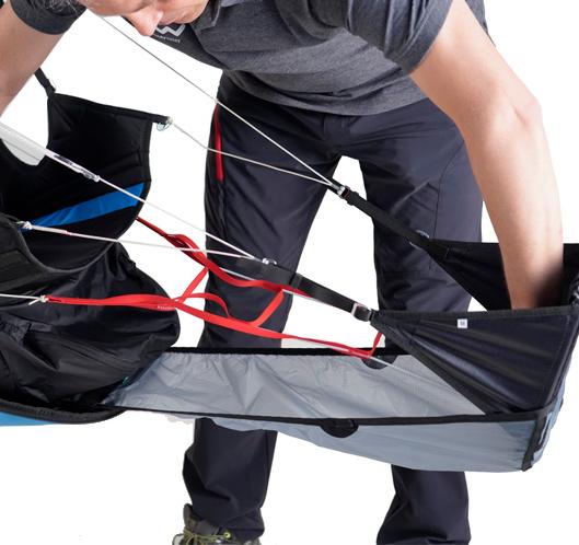 Verschleissschutz für die Beinabdeckung (optional)