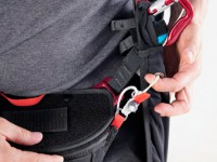 New leg cover closing system