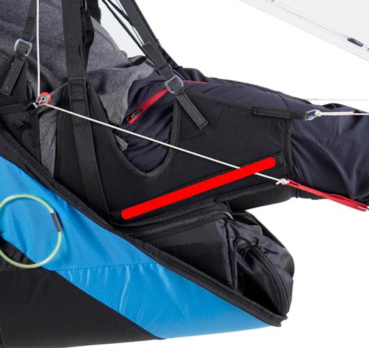 Wie sein Vorgänger ist das GTO Light 2 mit zwei Fiberglas-Seitenleisten anstelle des Sitzbretts ausgestattet, um das Gewicht zu reduzieren und Komfort und Stabilität zu gewährleisten.
