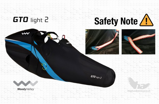 Woody Valley GTO Light 2 Safety Note